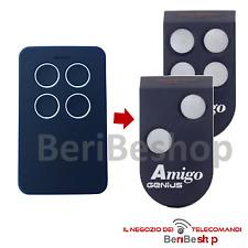 TELECOMANDO CANCELLO GENIUS AMIGO JA332 868 MHZ ROLLING CODE GARAGE