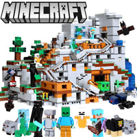 Minecraft The Mountain Cave 21137 Creator Series 2302 Blocks Kids Toys Gift Set