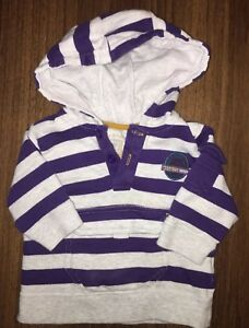 Boys Age 0-3 Months - TU Hooded Top