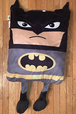 "BATMAN 39"" inch Stuffed Rectangle Pillow Toy Plush Stuffed Animal Cape"