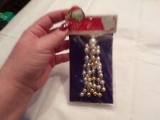 Vtg Minature Merry Christmas Ornament Dangles