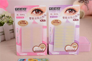 80pcs Invisible Fiber Double Side Adhesive Eyelid Stickers Technical Eye Tapes