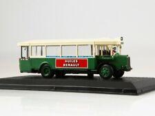 Scale model bus 1:72, Renault Tn6c2 1932 Green/Beige