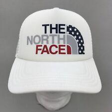 The North Face Women's USA Pride Trucker Hat Cap, TNF White, One Size