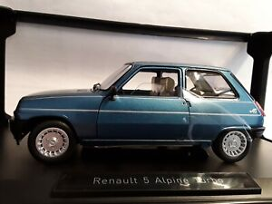 Renault 5 Alpine Turbo * 1981 navy blue / blau * 1:18  Norev 185157