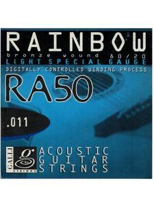 Set corde per chitarra acustica Galli Ra50 tensione light special 011 - 052