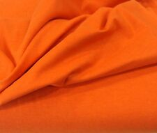 """BTY Orange 100% Cotton Double Brushed Flannel Fabric 43"""" wide By The Yard New!"""