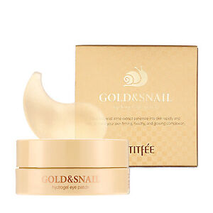 PETITFEE Gold & Snail Hydrogel Eye patch 1.4g*60pcs