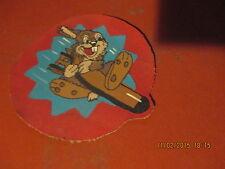WWII USMC DISNEY THUMPER RABBIT MARINE AIR GROUP 41 MAG-41  FLIGHT JACKET  PATCH