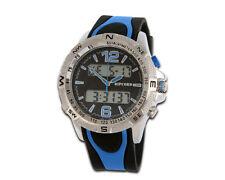 Ripcord by Trias reloj Multifunción modelo de serie And001-blau hora dual 24h