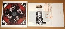 AMEN CORNER 1ST DERAM AUTHENTIC PRINTER'S PROOF ORIGINAL PRODUCTION ARTWORK 1968
