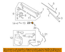 NISSAN OEM Wiper Washer-Windshield-Nozzle Spray Jet Right 289307S000