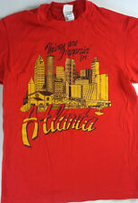 Things Are Happnin' In Atlanta City T-Shirt Adult SZ S/M Red ATL Mens Womens