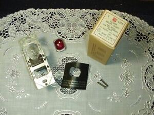 Bryant 1377 Flush Pilot Light Red Jewell for Two Opening Plate 75W 125V NEW!