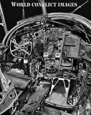 RAF WW2 Vickers Wellington Cockpit  8x10 Photo WWII