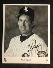 Kevin Tapani Chicago Whitesox  Minnesota Twins Autographed Photo Jerry Seinfeld