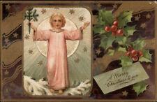 Christmas - Christ Child? PFB c1910 Postcard