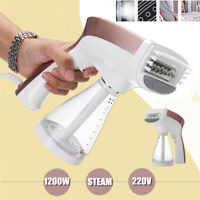 1200W 220V Portable Garment Steamer Hand-held Clothes Ironing Fabric