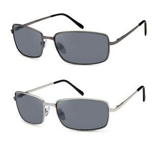 Sonnenbrille mit Federschanier in versch. Gestellfarben - Gläser grau UV400