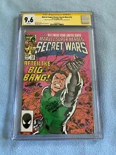 Secret Wars #12 (Apr 1985 Marvel) CGC SS 9.6 WP Signed 3X ZECK, BEATTY & SHOOTER