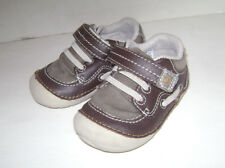 STRIDE RITE DAWSON TODDLER BOYS SHOES SNEAKERS size 4 M BROWN LEATHER CUTE
