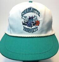 VTG 90's NBA Charlotte Hornets Hat New With Tag (Defect-small hole at tag) Rope