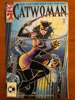 DC COMICS | CATWOMAN #1 | 1993 | EMBOSSED COVER