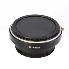Pentax K PK Lens to Nikon AI AF F Adapter with Glass For D7200 D7100 D810 D5500