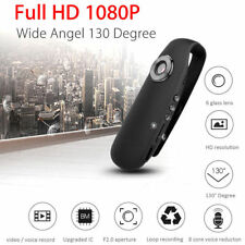 1080P 130° Mini Camcorder Dash Cam Police Body Motorcycle Bike Motion Camera A