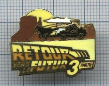 Pin's Retour vers le futur part III cinéma Back to the future / film movies 1990