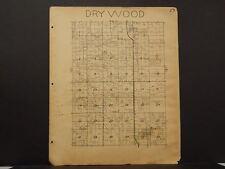 Missouri Vernon County Map Dry Wood Township 1928   !R5#15