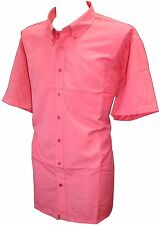 SECONDS Espionage Soft Touch Short Sleeve Shirt Coral Size 5XL F1003