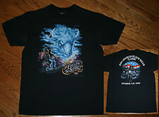 3D Emblem Follow The Spirit Sturgis Black Hills Buffalo Biker T-Shirt Men L 1993