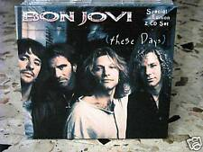 BON JOVI-THESE DAYS-special limited edition 2 CD 1996