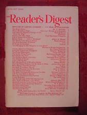 Readers Digest January 1948 Von Trapp Family Singers Blake Clark Henry Hazlitt
