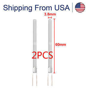 2pcs 80W Ceramic Heater Heating Element Core 110V for Soldering Iron Tools