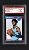 2019 Ja Morant Panini Instant Donruss Rated Rookie 1st Graded 10 Grizzlies Card