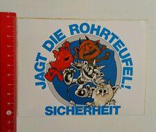 Aufkleber/Sticker: Jagt die Rohrteufel (010716144)