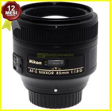 Obiettivo Nikon AF-S Nikkor 85 mm f1,8 G Tele Full frame per fotocamere FX e DX