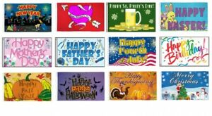 Wholesale Lot 12 Months of Holidays 3'x5' Polyester Flag Set Banner Grommets