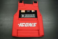 NEW MEN'S HUDSON OUTERWEAR H7052940P-RED ICONS REFLECTIVE FASHION VEST RED