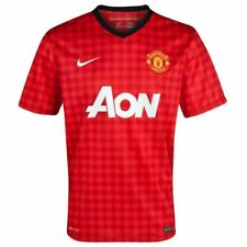Nike Manchester United Home Boys Soccer Football Jersey 2012 - L