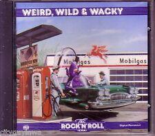 TIME LIFE Rock & Roll Era WEIRD WILD WACKY Various Artists 1991 CD Royal Teens