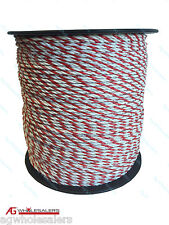 POLY ROPE 200M PREMIUM 4MM - ELECTRIC FENCE POLYROPE