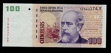 ARGENTINA  100 PESOS   2012  Y   PICK # 357 UNC BANKNOTE.
