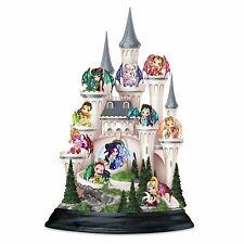 Jasmine Becket-Griffith Castle Of Dragon's Keep Fairy Figurine Set by Bradford