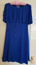 Karen Millen Royal blue dress. Size 12