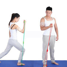 Resistance Training Bands Rope Tube Workout Exercise For Yoga Sunny Life