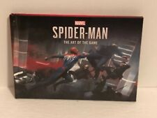 Marvel's Spider-Man: The Art of the Game Hardcover Sealed Book