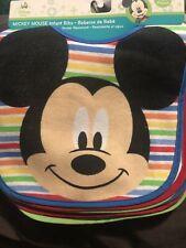 Disney Baby Mickey Mouse Infant Bibs